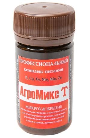АгроМикс Т смесь питательных микроэлементов в хелатной форме 50 мл., фото