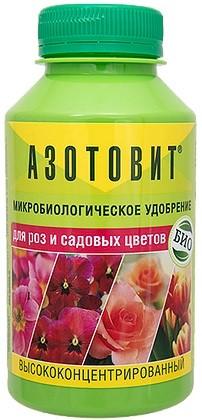 Азотовит для роз и садовых цветов 0,22л, фото