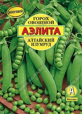 """Горох """"Аэлита"""" овощной Алтайский изумруд, 25г, фото"""