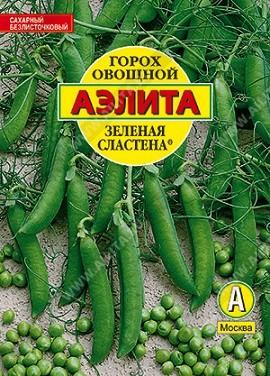 """Горох """"Аэлита"""" овощной Зеленая сластена, 25г, фото"""