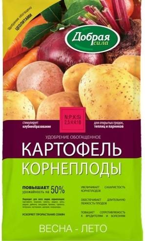 Удобрение КАРТОФЕЛЬ-КОРНЕПЛОДЫ, 0,9 кг, фото