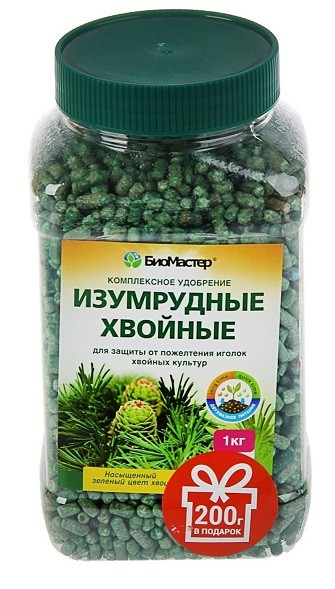 БиоМастер- Изумрудные хвойные, 1,2кг, фото