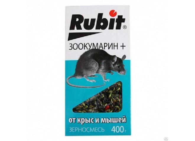 РУБИТ ЗООКУМАРИН+ зерновая смесь 400 г, фото
