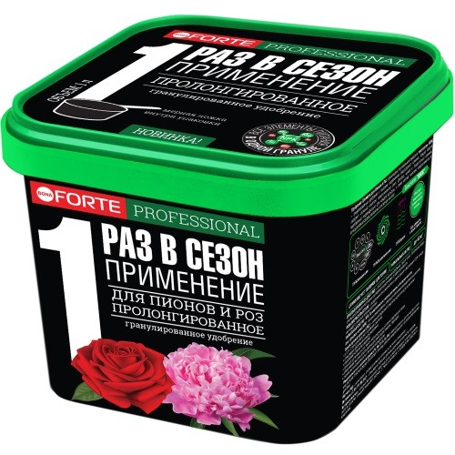 """""""BONA FORTE"""" Для пионов и роз с биодоступным кремнием, 1л, фото"""