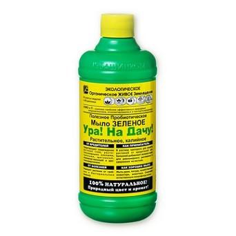 Мыло–зеленое, растительное, калийное «Ура! На Дачу!» 0,5 л, фото