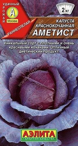 Капуста к/к Аметист, 0,3г, фото