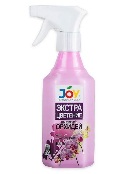 """JOY """"ЭКСТРА цветение"""" удобрение - стимулятор для орхидей, 400мл, фото"""