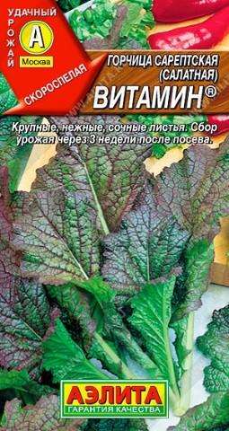 Горчица салатная Витамин, 0,5г, фото