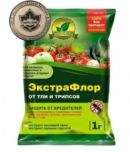 ЭкстраФлор от тли и трипсов, 1г, фото