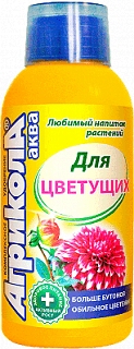 Агрикола Аква для цветущих растений, 250мл, фото