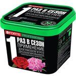 Удобрение гранулированное пролонгированное Для пионов и роз с биодоступным кремнием, 1л, фото