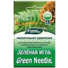 Зеленая Игла (средство от побурения хвои) 100гр., фото