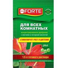 """Удобрение """"BONA FORTE"""" для всех КОМНАТНЫХ РАСТЕНИЙ, саше 10 мл, фото"""