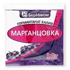 Марганцовка БашИнком (перманганат калия) 10 г, фото