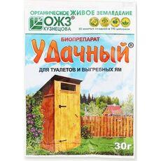 Удачный – биопрепарат для туалетов и выгребных ям, 30 г, фото