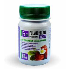 Жидкое удобрение Фульвохелат +К +S для клубники, земляники 60мл, фото