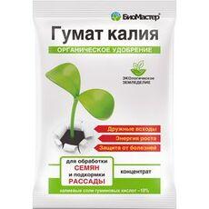 """Удобрение органическое """"БиоМастер"""" Гумат Калия, для рассады, концентрат, 4 мл, фото"""