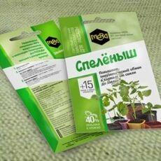 Удобрение универсальное для рассады МЕРА «СПЕЛЁНЫШ», 5г, фото