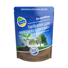 """Удобрение """"ОрганикМикс"""" для пересадки и рассады, 850 гр., фото"""