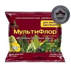 МультиФлор - универсальное для хвойных растений, 50г, фото